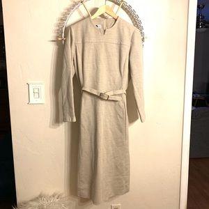 Vtg 1960's Abe Scrader Belle Sanders Midi Dress